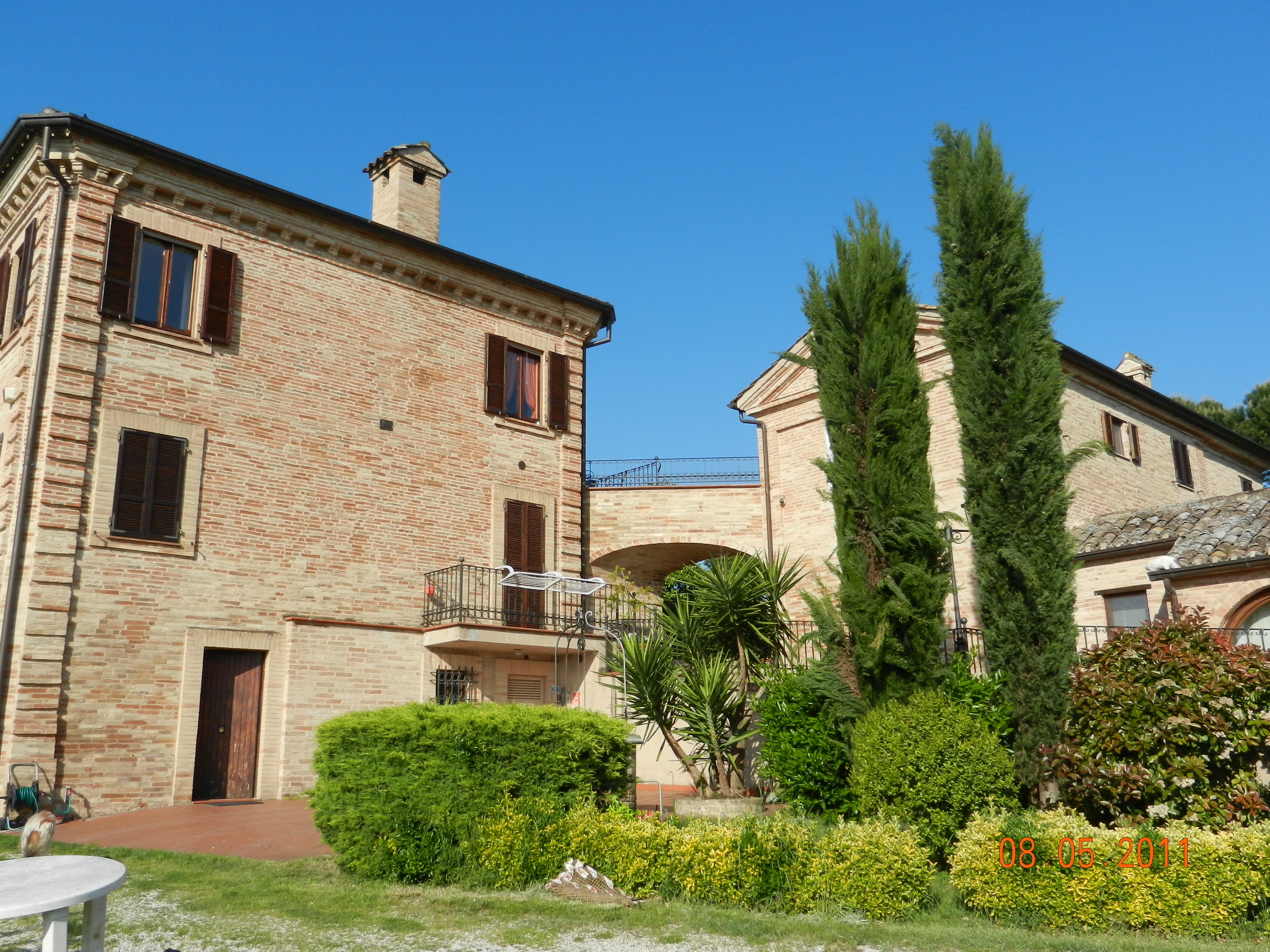 Luxury villa with church for sale in Marche