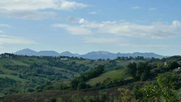 Sold-Restored farmhouse in Loro Piceno with 5 ha of land