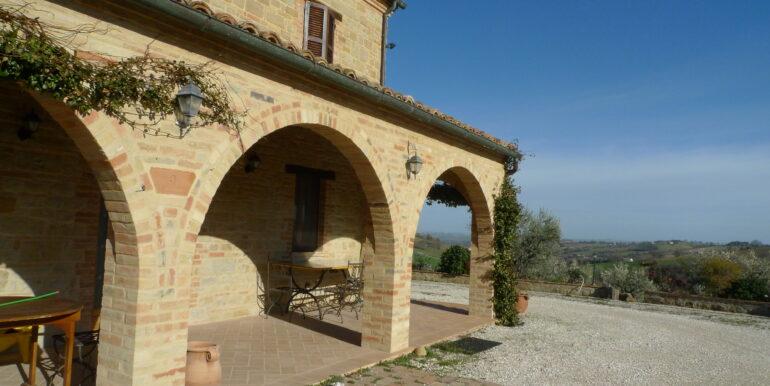 Casale ristrutturato provincia di Macerata. San Ginesio, Marche