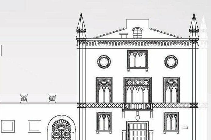 disegno palazzo modificato