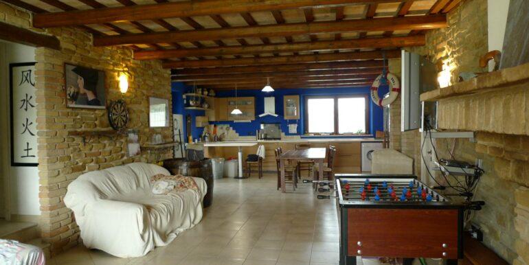 Restored farmhouse inTreia