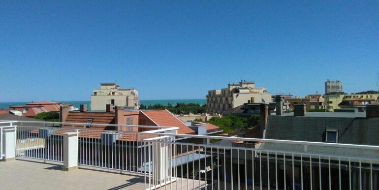 Porto S.Elpidio terrazza vista mare
