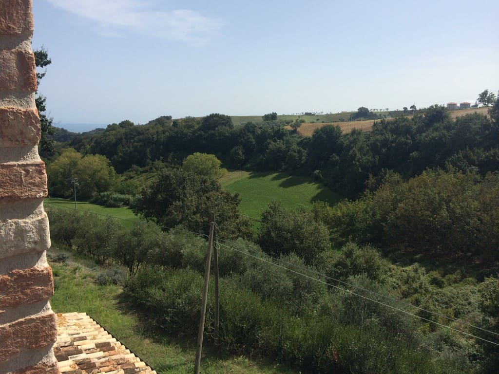 Country house for sale in Le Marche, 2km from historical centre and 6 km from the coast.