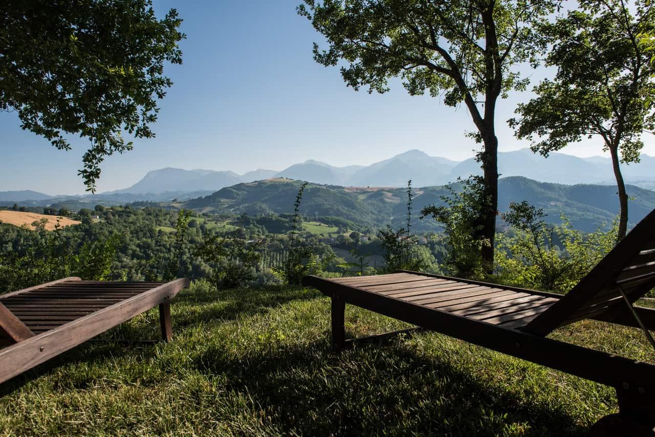 Rural property in Smerillo with Sibillini view!